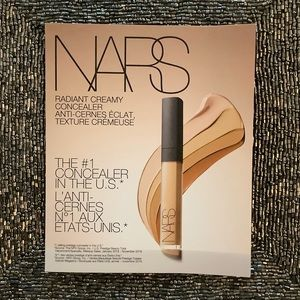 NARS Radiant Creamy Concealer Sample Card